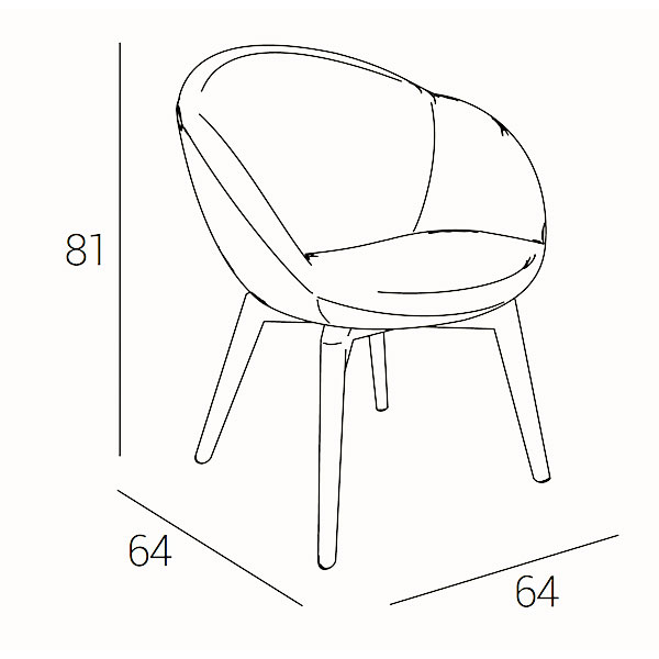 bea-A-armechair-technical-drawing
