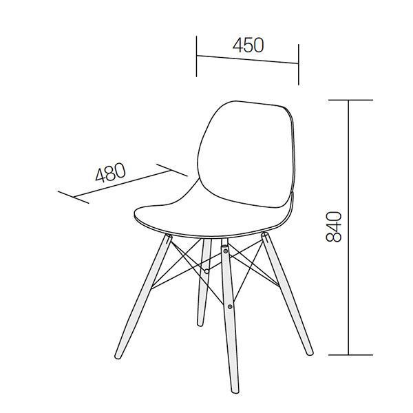 Caligola-chair-technical-drawings