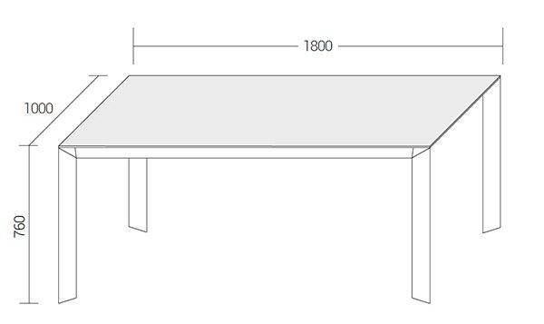 Diamante-tables-technical-drawings