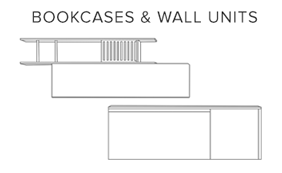 Bookcases wall units