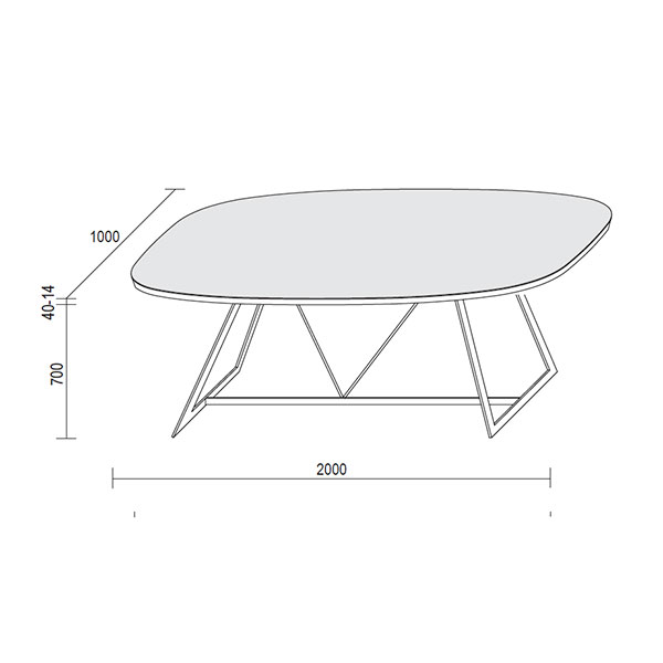 radar-ovale-tables-technical-drawings