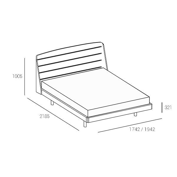 BOLERO-bed-technical-drawing-