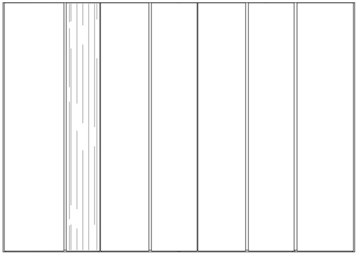 wardrobe kl25 line drawing