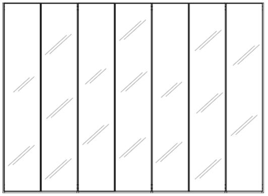 wardrobe line drawing KL28