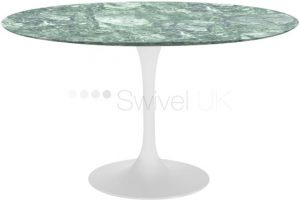 Eero Saarinen Tulip Table marble alpi verde