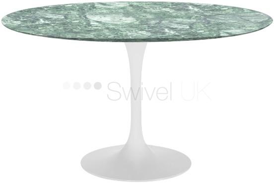 Eero Saarinen Tulip Table marble alpi verde