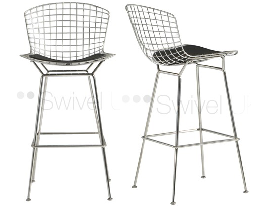 Harry Bertoia Bar Stool Replica