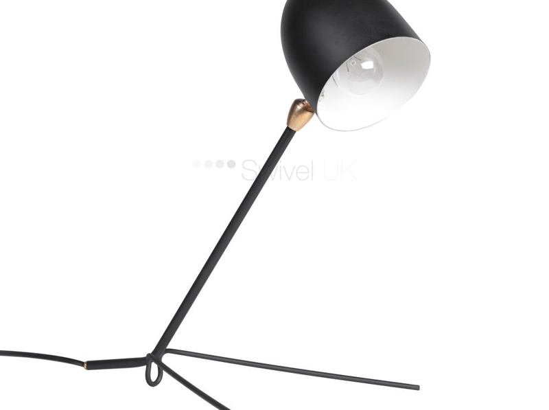 Serge Mouille table lamp replica