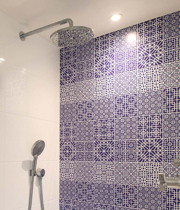 reco wall finish bathroom tiles